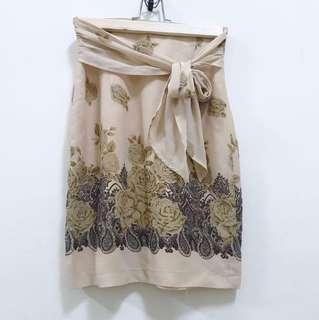 《台中》復古 玫瑰膚色紗裙