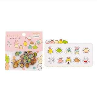 🚚 [po] cute cartoon decorative sticker flakes
