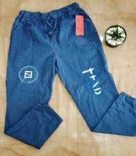 Celana soft jeans