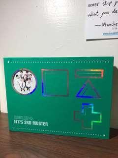 🚚 BTS 3RD MUSTER DVD+寫真書