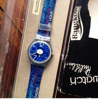 Jam Tangan Swatch phill collins special edition