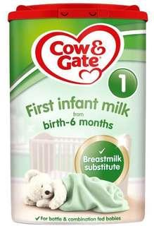 Cow & Gate First Infant Milk 1 from Birth - 6 Months 800g