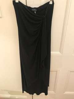 Nearly new - Formal long dress black size S