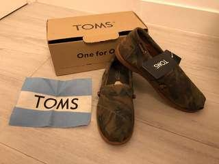 Toms Army Shoes