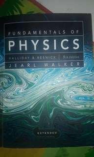 Dijual Buku FUNDAMENTALS OF PHYSICS HALLIDAY&RESNICK 9th Edition Jearl Walker Extended