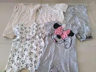 H&M Girl One set 5pcs only for RM25