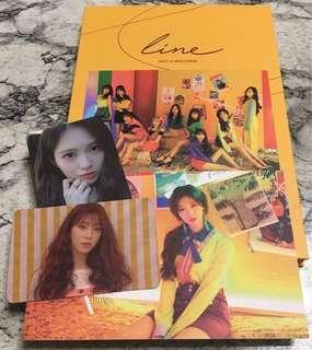 UNI.T mini album Line