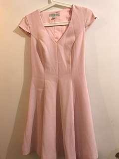Forever New Baby Pink Dress