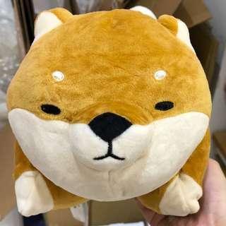 🚚 預購MINISO名創優品柴犬多用抱枕絨毛玩偶