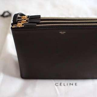 CÉLINE- Black Trio goldhardware Bag RRP $1700!!!