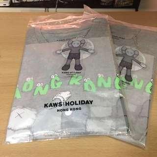 Kaws Holiday Hong Kong T-shirt Grey 灰色 size M