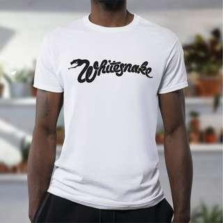 Whitesnakes inspired T-Shirt 100% cotton!