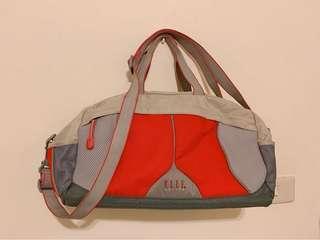 ELLE超大容量行李袋健身裝備袋可側背
