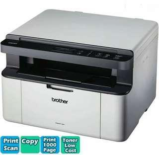 Brother Model: DCP-1610W  Wireless MonoChrome Laser Printer Scan Copyer Printer Scan