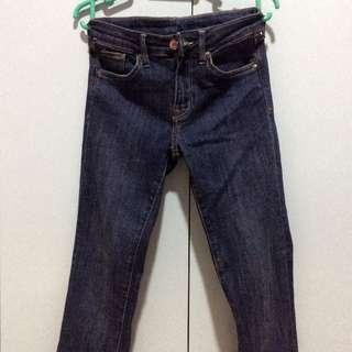 H&M SKINNY LOW WAIST DENIM JEANS SIZE 26