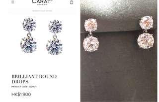 Carat Earrings 耳環