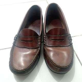 Loafers (vintage, leather)