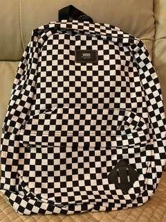 Vans Canvas Checkerboard Backpack 格仔經典款帆布背囊