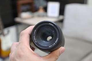 Canon EF-S 55-250m f/4-5.6 zoom lens