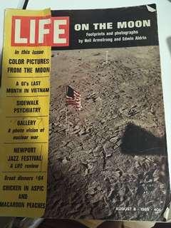 1969 LIFE Moon Landing original issue