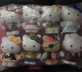 BN - Sanrio Hello Kitty  Figurines On Stage - Set of 8