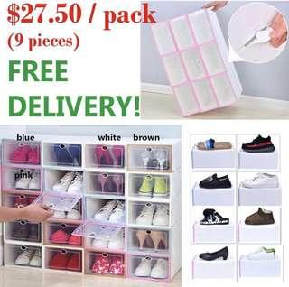 FREE DELIVERY- Stackable Shoe Rack / storage