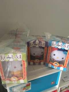 Mcdonalds Hello Kitty Circle Of Life - complete set of 7 (with 2 special edition included).
