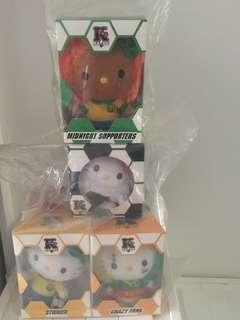 Mcdonalds Hello Kitty World Cup with 2 special editions from HongKong.