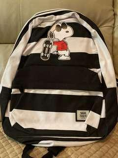 Vans crossover Peanuts Snoopy Backpack 史奴比狗狗