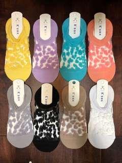 🇰🇷韓國直送代購🇰🇷 現貨 2019S/S 豹紋 半絲襪綿襪 韓國船襪 100%韓國製造