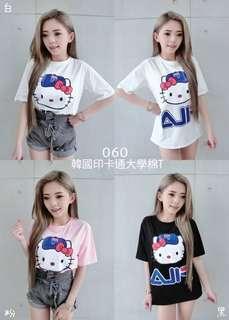 🚚 FILA Kitty版上衣 休閒t恤上衣