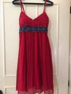 SALE!!!RED Cocktail Dress