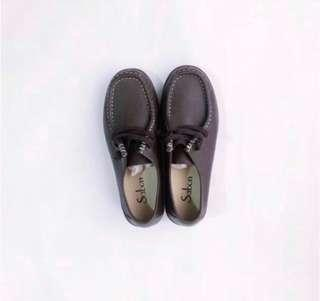 Sabon Oxford Brown Shoes from Twn • Size 7 • Used once