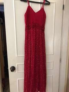 SALE!!! RED Gown