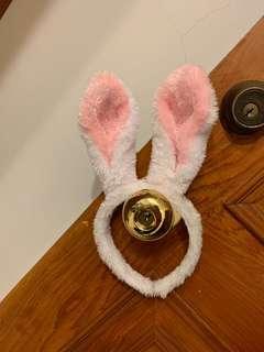 🚚 小孩兔子造型髮圈
