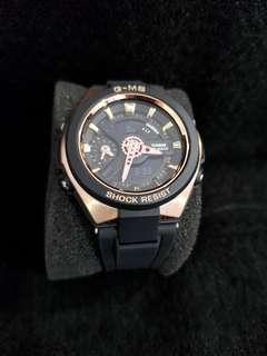 🚚 Baby-G Digital Quartz Rose Gold Stainless steel Women's Watch