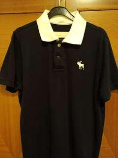 Abercrombie &fitch polo T-shirt XL
