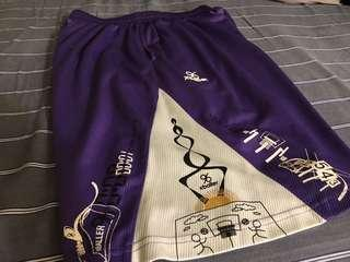 🚚 紫色M號籃球褲、訓練褲#nba#nike#adidas#ua#basketball