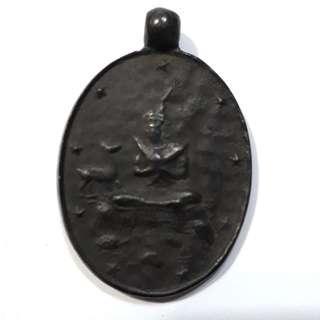 Old Thai Amulet Rain