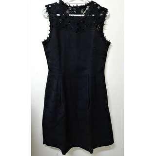 Embroidery black women dress