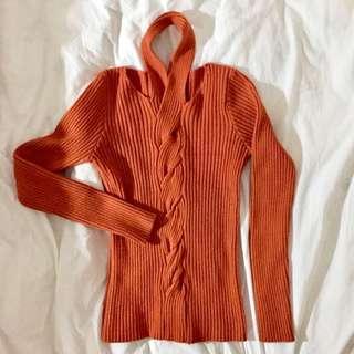 🚚 👘修身性感彈性毛衣