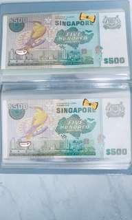 🚚 Singapore Vintage Note