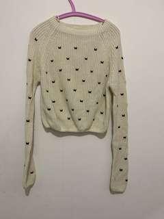 Cropped Sweater Zara Pattern