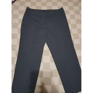 BIG SIZE Celana Panjang Warna Abu