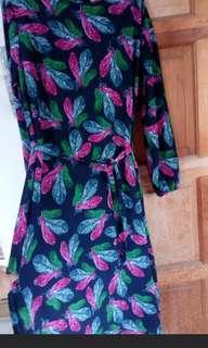 #GayaRaya Chiffon Dress