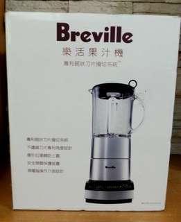 Breville 鉑富 微電腦樂活果汁機.碎冰調理蔬果機BBL550XL