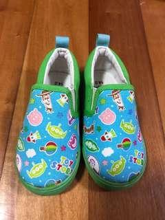日本 迪士尼 反斗奇兵 / Disney Toy Story 小朋友 / 小童 布鞋 / shoes size 14cm