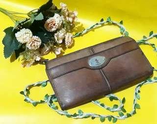Fossil chesnut wallet