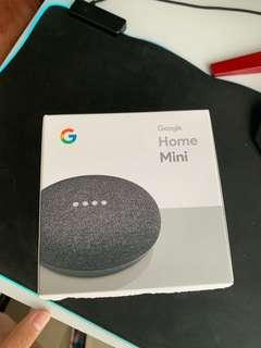 🚚 Google home mini charcoal ( price dropped!)