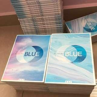 Unsealed B.A.P BLUE Honeymoon Single Free Postage